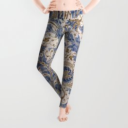 Aged Pomegranate Pattern Leggings