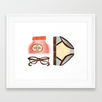 superman Framed Art Prints featuring Superman by rety