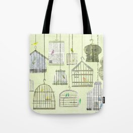 Bird cages Tote Bag