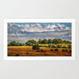 Van Goghs colours Art Print