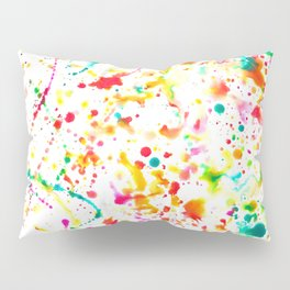 Sunday Splatter Pillow Sham