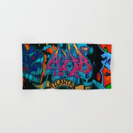 ATL Graffiti Hand & Bath Towel