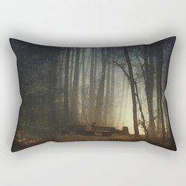 enD of nigHt fanTasy Rectangular Pillow