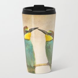 Love time. Bee-eaters Travel Mug