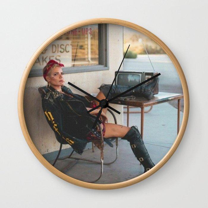 Halsey 7 Wall Clock