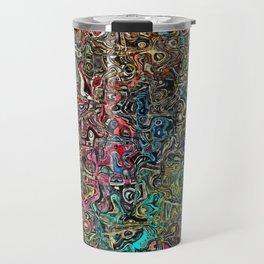 Abstract SQ Travel Mug