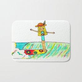 Hang 10 Lady Slider Bath Mat