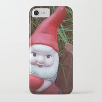 gnome iPhone & iPod Cases featuring Chubby Gnome by ADH Graphic Design