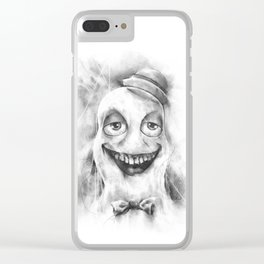 The Spectre of Berry Clear iPhone Case