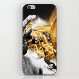 Louis Armstrong Trumpet Music Musician Jazz iPhone Skin