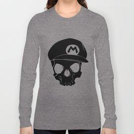 Mario fan til I die Long Sleeve T-shirt