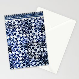Cobalt Flourish Stationery Cards