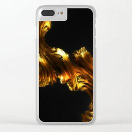 Like Gold, Not Gold Clear iPhone Case