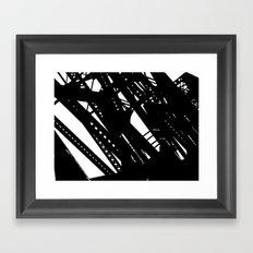 Bridges 2 Framed Art Print