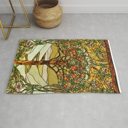 Louis Comfort Tiffany - Decorative stained glass 6. Rug