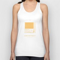 architect Tank Tops featuring #WorkerEssentials - Architect by EHILAB