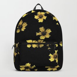 Pale yellow Backpack
