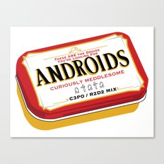 Androids Canvas Print