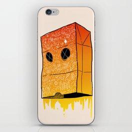Bag Face iPhone Skin