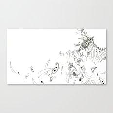 Mechanical Nightingale Canvas Print