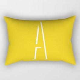 The Letter A Rectangular Pillow