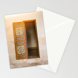 decorative open door - travel photography Stationery Cards