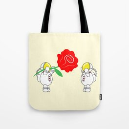 Astro Love Story   Roses Are Red   Valentines   Love You   pulps of w Tote Bag