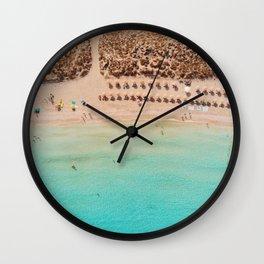 Island Beach Wall Clock
