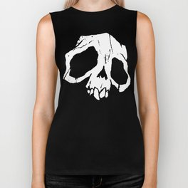 Ghoul Skull Biker Tank