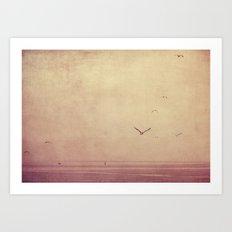 sea teal Art Print