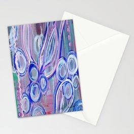 Pink Rick Rack Stationery Cards
