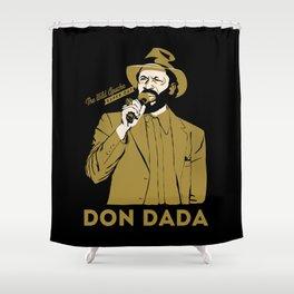 Super Cat Don Dada Shower Curtain