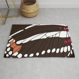 Butterfly Wing - Zebra Longwing Rug