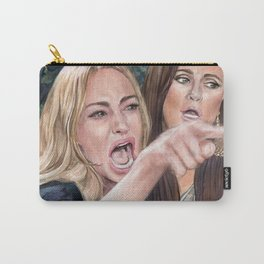 Woman Yelling at Cat Meme-1 Carry-All Pouch