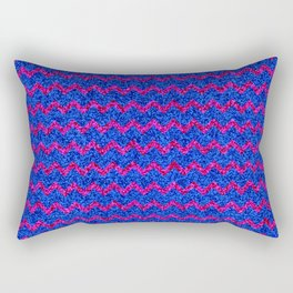 Chevron Glitter Pattern 03 Rectangular Pillow