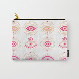 Evil Eyes – Pink Ombré Palette Carry-All Pouch