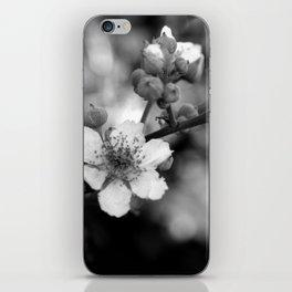 Blackberry Flower iPhone Skin