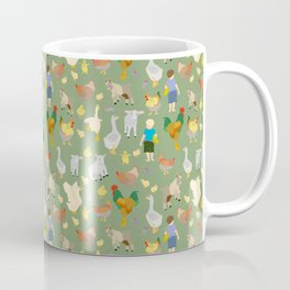 Playtime on the Farmyard Coffee Mug