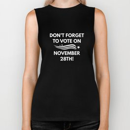 Vote November 28th Biker Tank