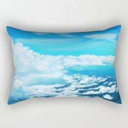Above the world Rectangular Pillow
