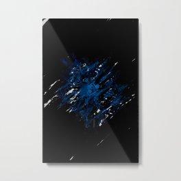 Blue Abyss Metal Print