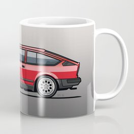 Alfa Romeo GTV6 Red Coffee Mug