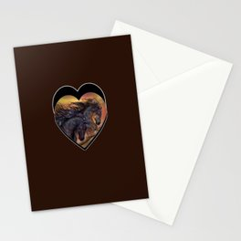 HORSES - On sugar mountain Stationery Cards