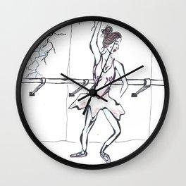 Dancer 1 Wall Clock