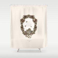 le petit, amour, délicate Shower Curtain