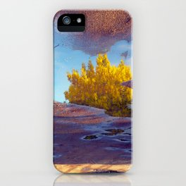 Spring in a puddle! iPhone Case
