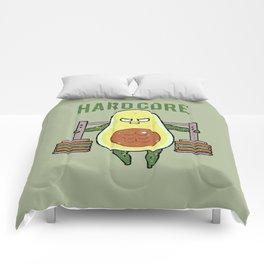 Hardcore Avocado Comforters