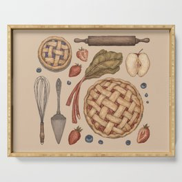 Pie Baking Collection Serving Tray