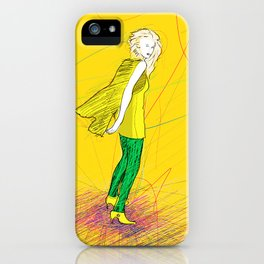THE Lady One iPhone Case