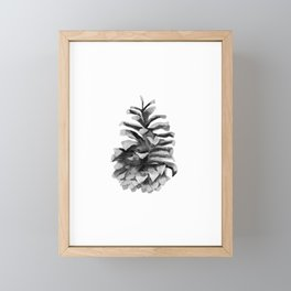 Pinecone Framed Mini Art Print